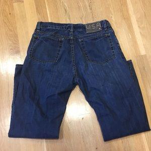 Varvatos sz 33 authentic fit button fly jeans EUC